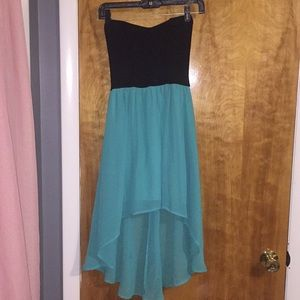 High low dress size small